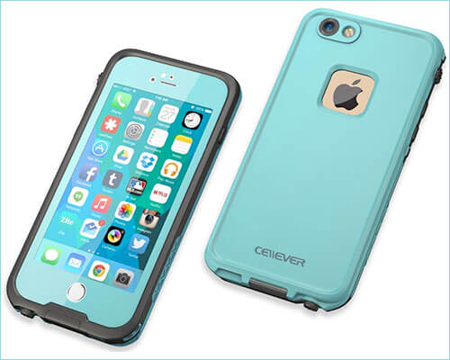 CellEver Waterproof Case for iPhone 6-6s Plus