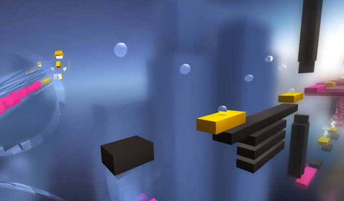 Chameleon Run Endless Runner iPhone and iPad Game Screenshot