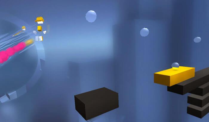 Chameleon Run iPhone and iPad Game Screenshot
