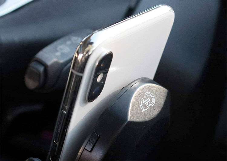 Charge iPhone Wirelessly with Tap