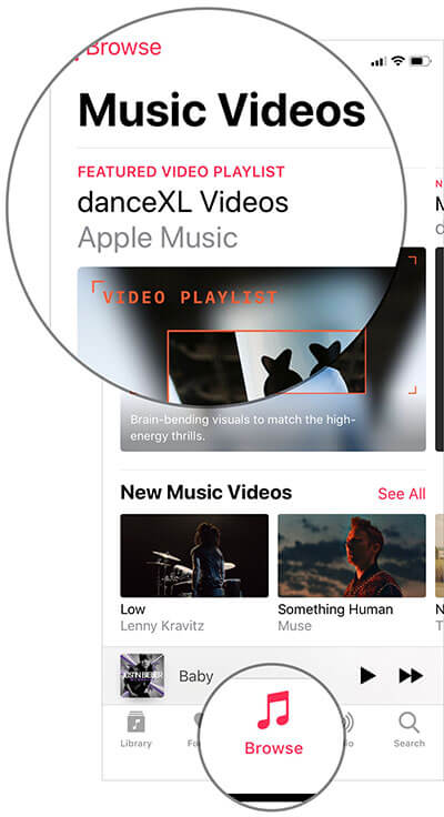 Check Out Featured Playlists in Apple Music