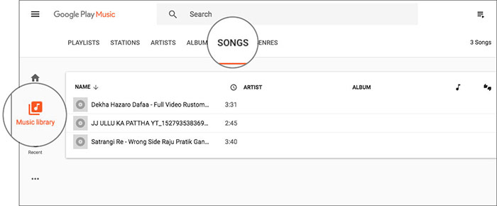 Check Out Upload iTunes Playlist in Google Play Music