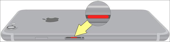 Check iPhone Liquid damage