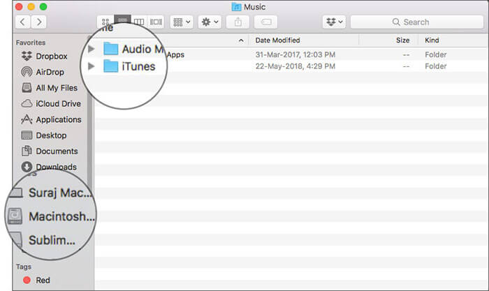 Check out iTunes library on Mac