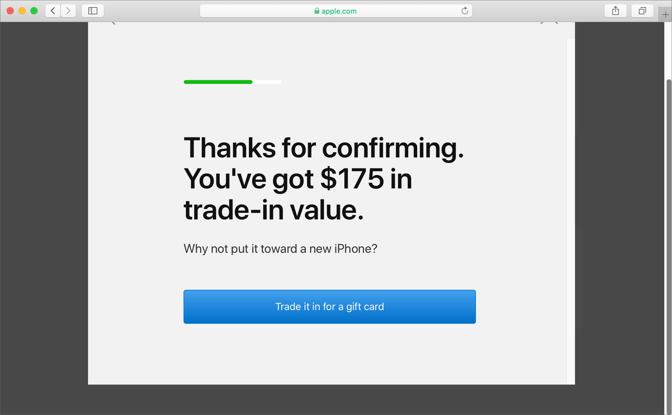 Check your iPhone Trade-in Value