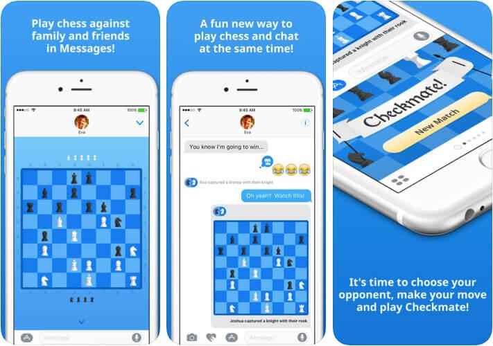 Checkmate iMessage Game App Screenshot