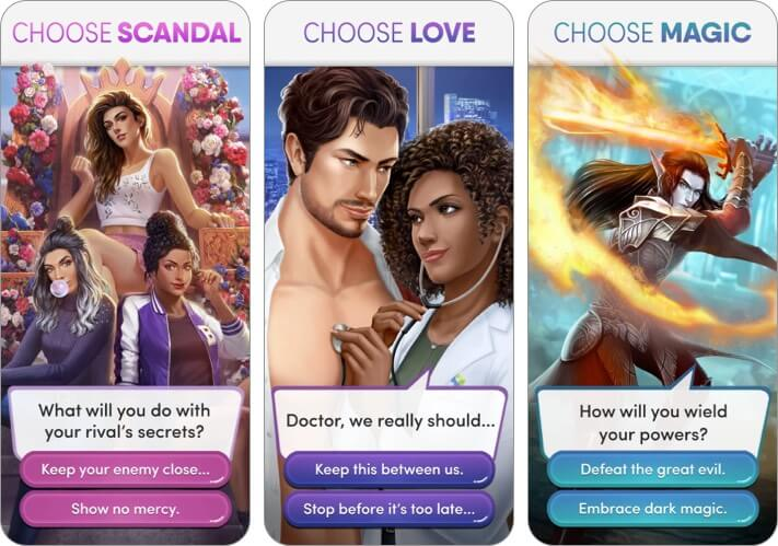 Choices Interactive Story Games for iPhone and iPad