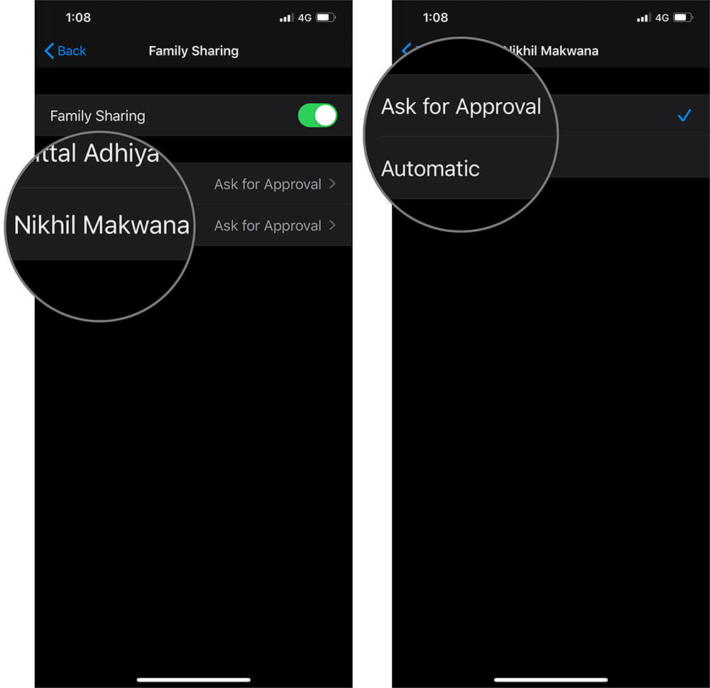 Choose Preferred Option to Allow Access on Personal Hotspot in iOS 13