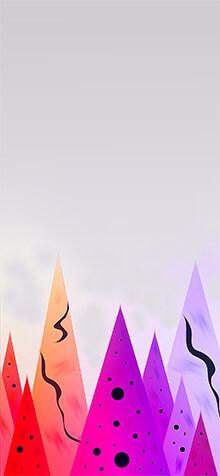 Christmas Scenery iPhone XS Wallpaper