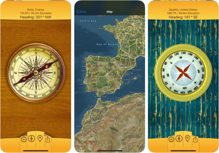 Christophe Pereira Compass App for iPhone and iPad