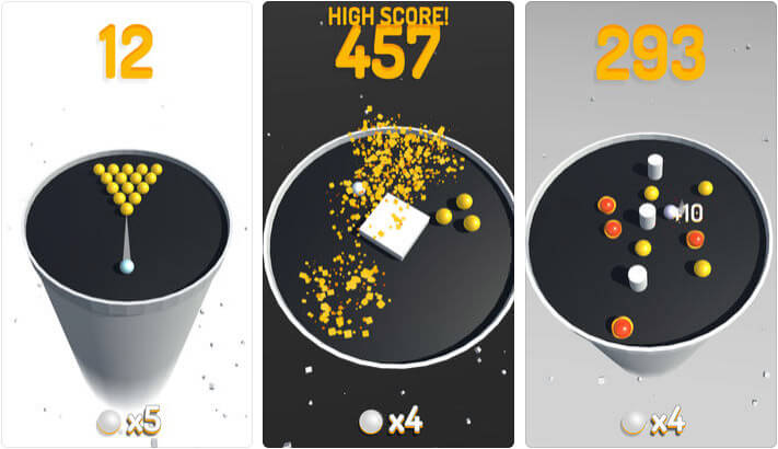 Circle Pool Game App for iPhone and iPad Screenshot