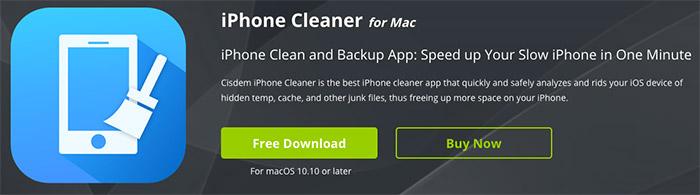 Cisdem iPhone Cleaner for Mac