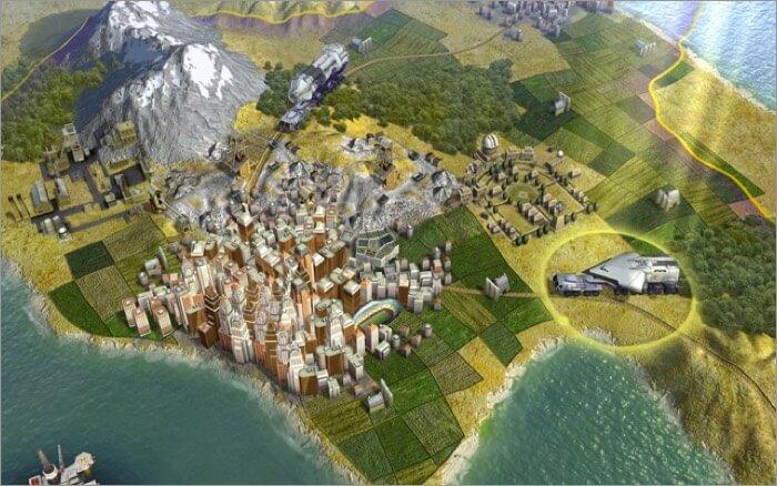 Civilization V Mac strategy game Screenshot