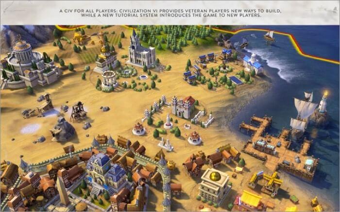 Civilization VI Mac strategy game Screenshot
