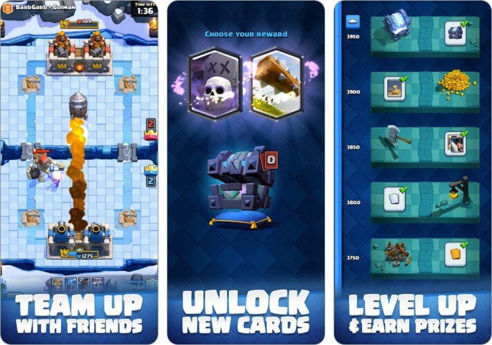 Clash Royale iPhone Game to Play with Friends