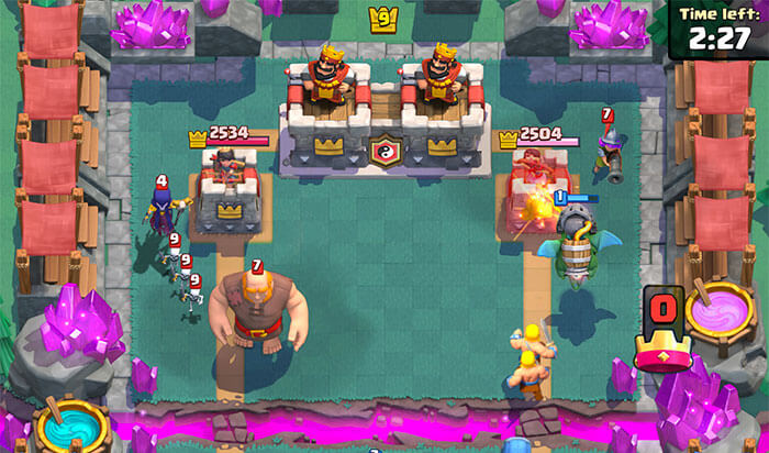 Clash Royale iPhone and iPad Strategy Game Screenshot