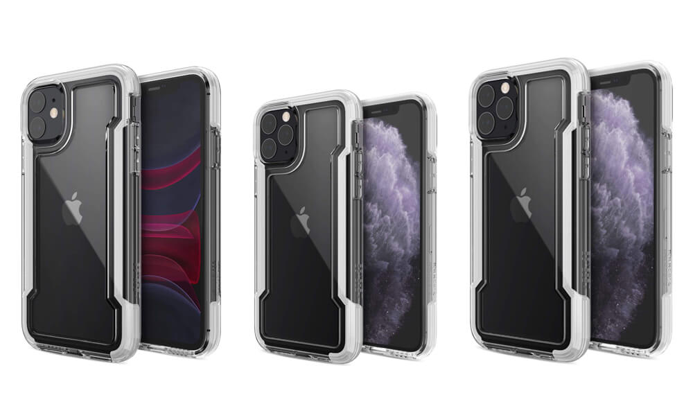 Clear Cases for iPhone 11 Pro Max, 11 Pro and 11 from Defense