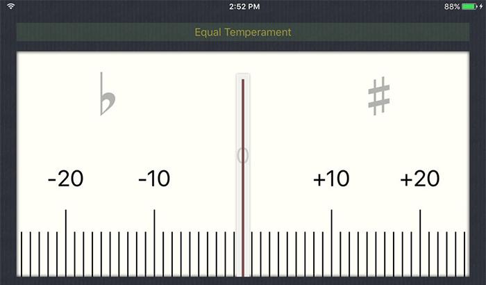 Cleartune iPhone and iPad App Screenshot