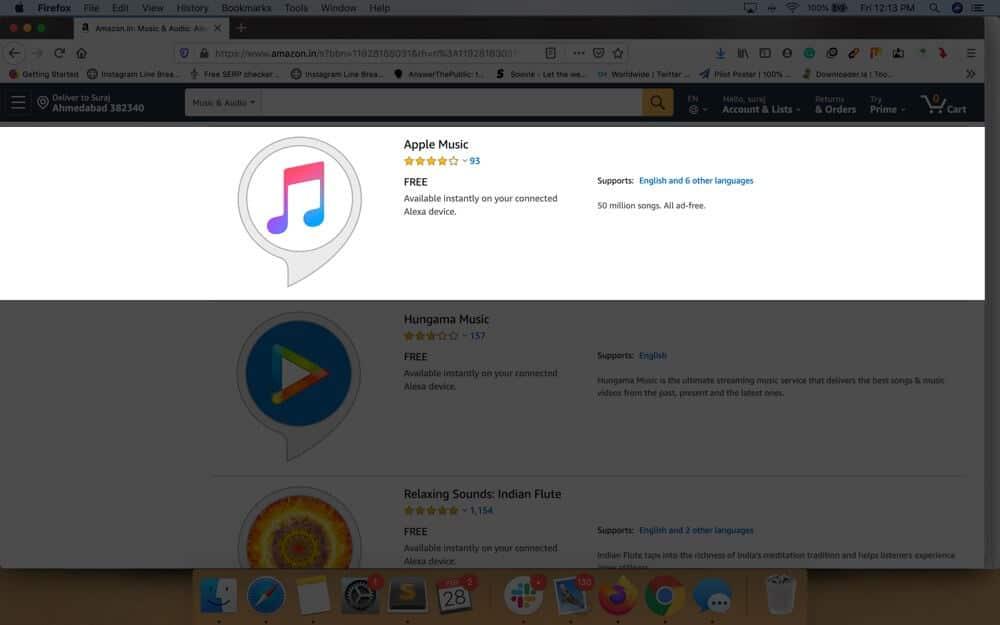 Click on Apple Music