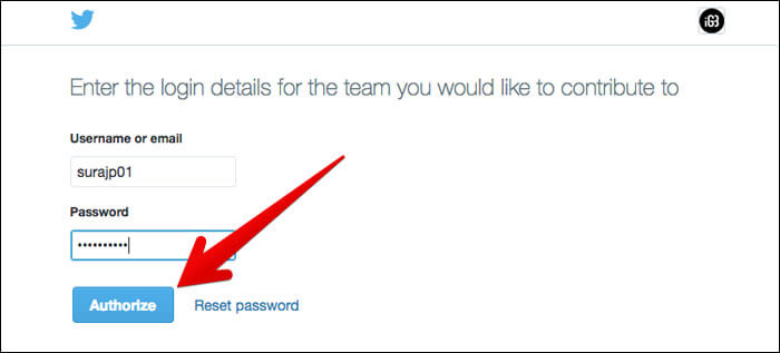 Click on Authorize to to Connect Another Twitter Accounts in TweetDeck