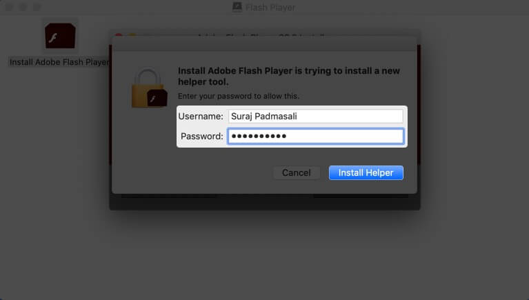 Install flash mac free