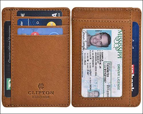 Clifton Apple Card Holder RFID Case