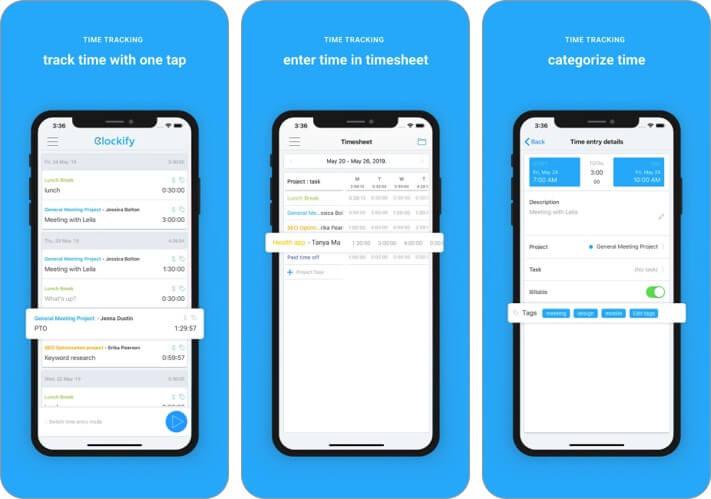 Clockify-Time-Tracker-iphone-ipad-time-tracker-app
