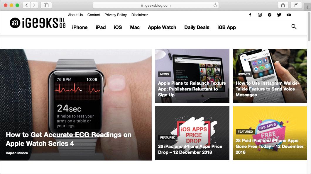 Close Tabs in Safari on Mac