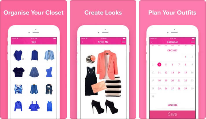 Closet Love iPhone and iPad App Screenshot