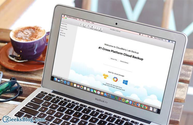 CloudBerry Backup for Mac