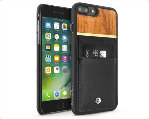 Cobble-Pro Wooden Case for iPhone 8 Plus
