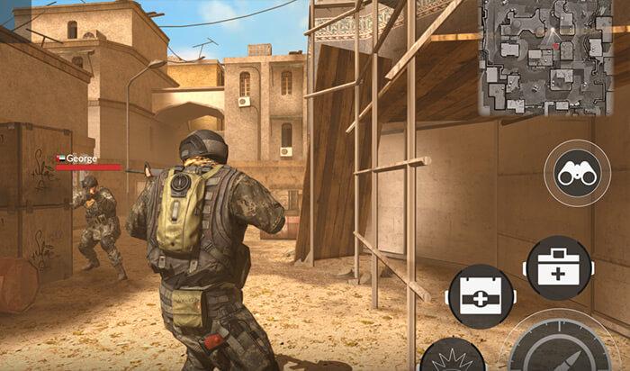 Code Of War Shooter Online Mac Game Screenshot