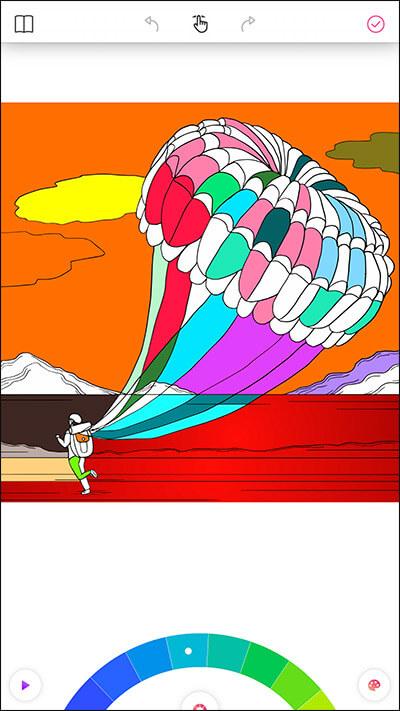 ColorGram iPhone App Color Options