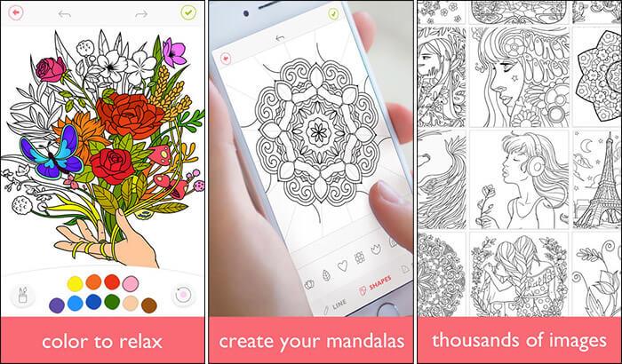 Colorfy iPad Drawing App Screenshot