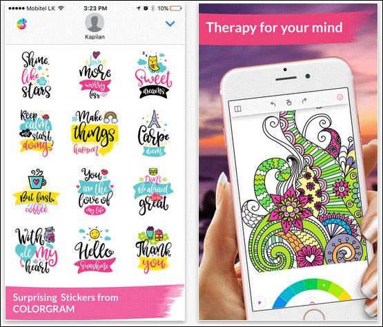 Colorgram iMessage App
