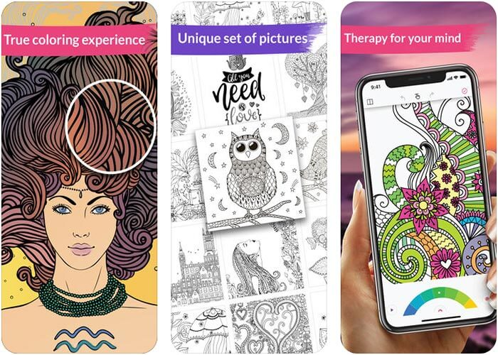 Colorgram iPhone and iPad App Screenshot