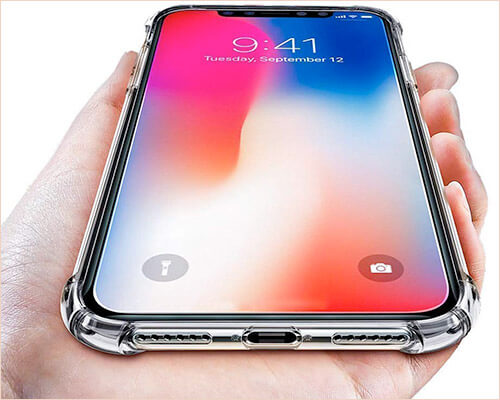 ComoUSA Wireless Charging Support Case for iPhone XR