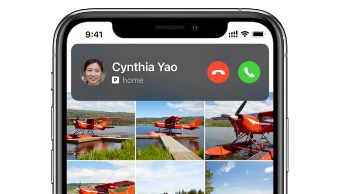 Compact iPhone Call Interface in iOS 14