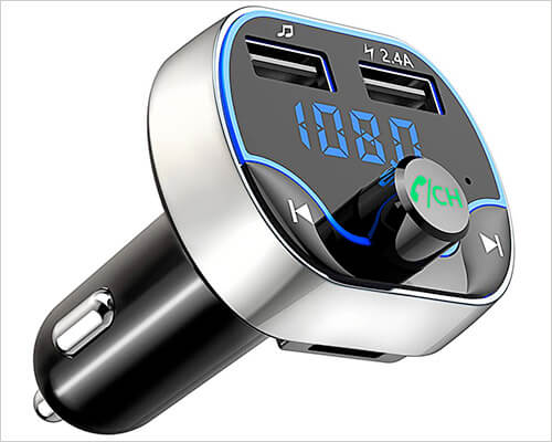 Comsoon Bluetooth FM Transmitter for iPhone 6 and 6 Plus