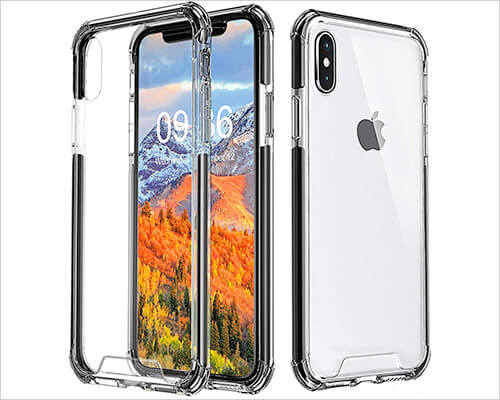 Comsoon iPhone XS Max Bumper Case