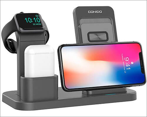 Conido Wireless Dock for iPhone Xs Max, Xs, and iPhone XR