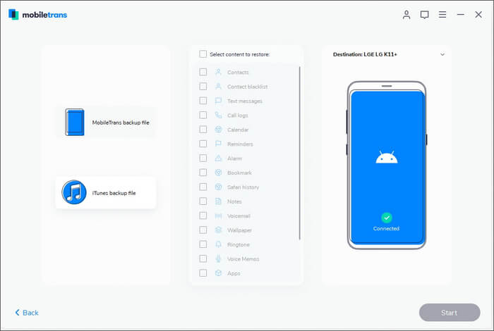 Connect Your Mobile with MobileTrans