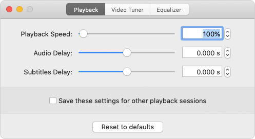 Control Playback Speed in Elmedia Video Player on Mac