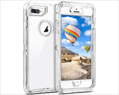 Coolden iPhone 6-6s Plus Clear Case