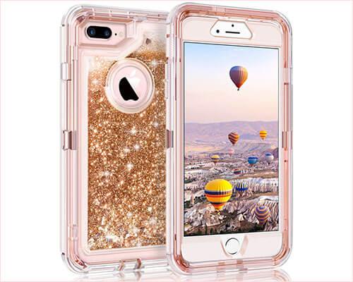 Coolden iPhone 8 Plus Case for Women