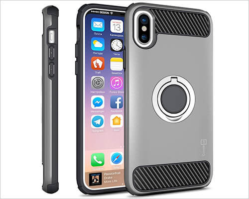 CoverON Ring Case for iPhone X-Xs