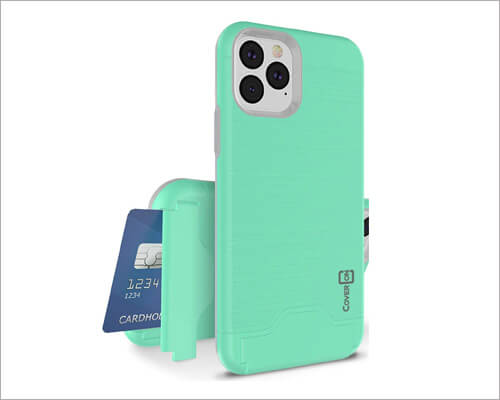 CoverON iPhone 11 Pro Kickstand Case with Card Holder