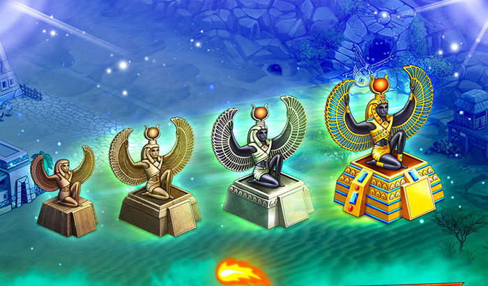 Cradle of Empires iPhone and iPad AR Puzzle Game Screenshot