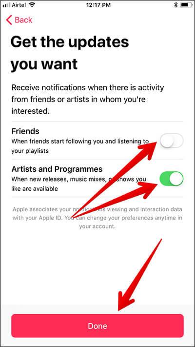 Create Apple Music Profile