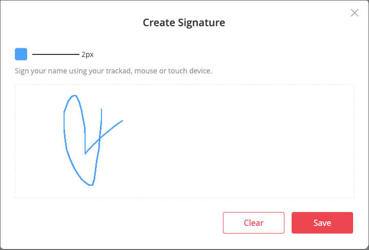 Create Signature Online in EasePDF Converter